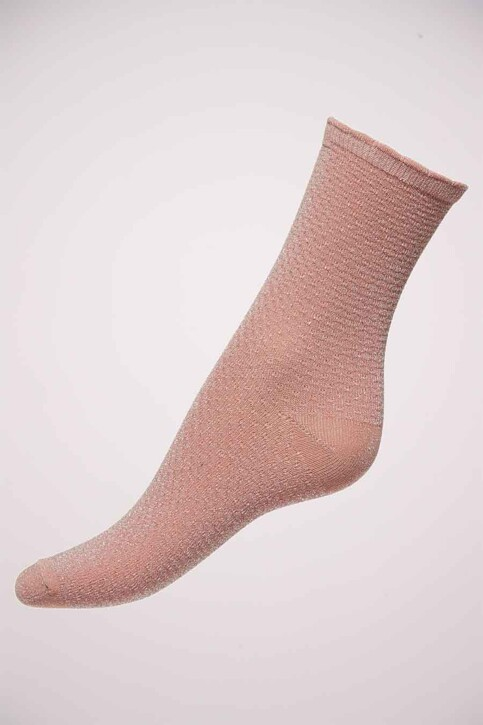 ONLY® Chaussettes rose ONLRISKA GLITTER_BEGONIA PINK img3