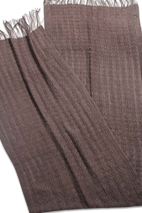 ONLY® Wintersjaals bruin ONLSEJA KNIT SCARF_DEEP TAUPE img2