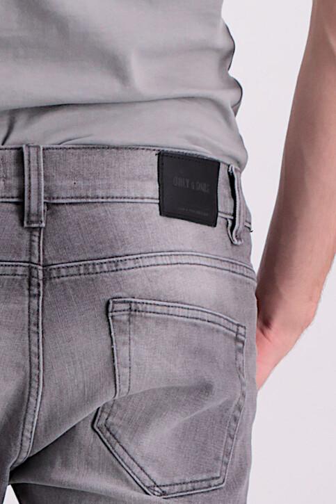 ONLY & SONS® Jeans slim grijs ONSLOOM_8532GREY DENIM img5