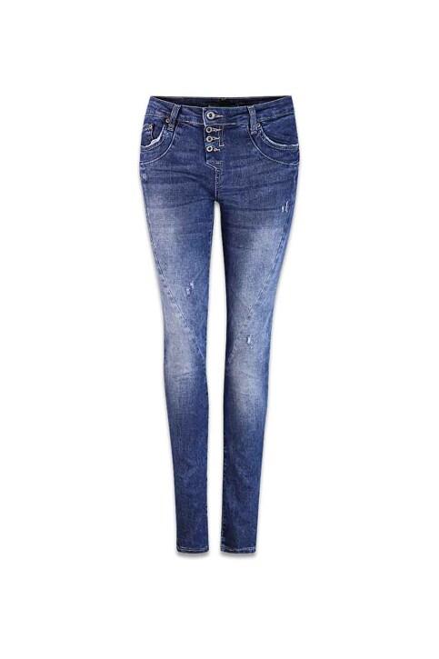Please Jeans skinny P24IBQ2DIX_1670 BLU DENIM img1