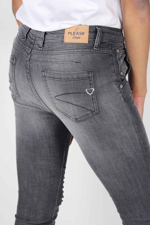 Please Jeans boyfriend P53MHK5EL1_1970 NERO STUD img4