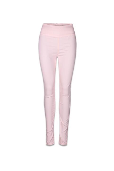 PIECES® Pantalons colorés rose PCJUST JUTE HW LEGGI_PEARL img1