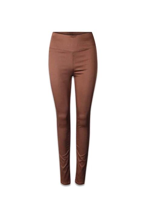 PIECES® Pantalons PCJUST JUTE HW LEGG_MUSTANG img1