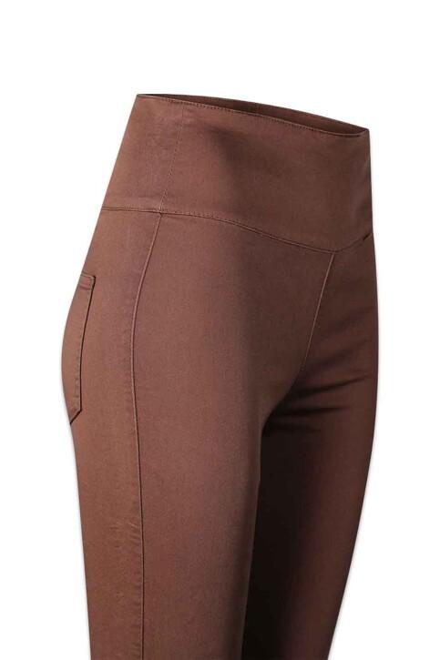 PIECES® Pantalons PCJUST JUTE HW LEGG_MUSTANG img5