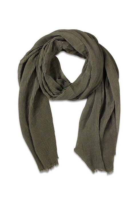 PIECES® Zomersjaals groen PCNABIA LONG SCARF_DARK OLIVE img1