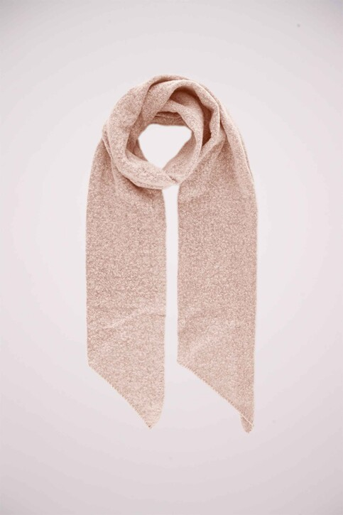 PIECES® Wintersjaals roze PCPYRON LONG SCARF_CAMEO ROSE img1