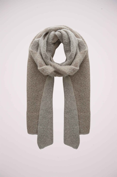 PIECES® Echarpes beige PCPYRON LONG SCARF_MOONBEAM img1