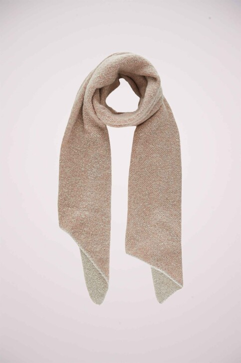 PIECES® Echarpes beige PCPYRON LONG SCARF_MOONBEAM img3