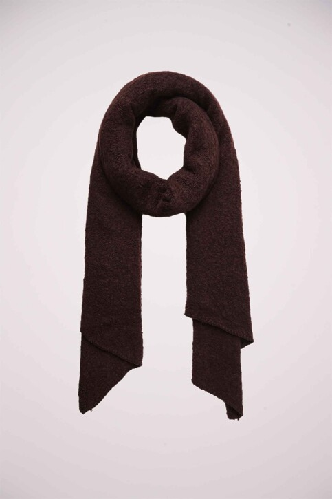 PIECES® Echarpes bordeaux PCPYRON LONG SCARF_WINETASTING img1