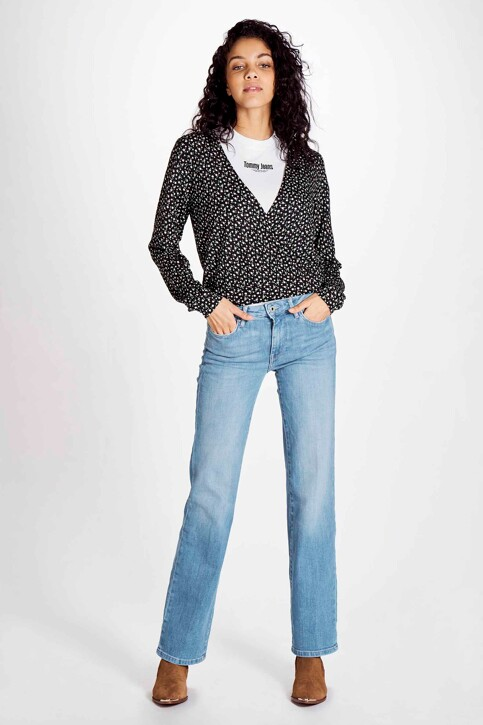 Pepe Jeans Jeans flared denim PL202229NA0_NA0 LIGHT BLUE img1