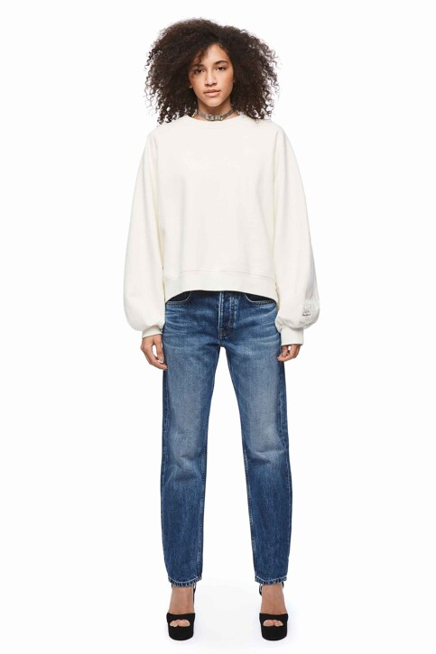 Pepe Jeans Sweats col O blanc PL580904_800 WHITE img2