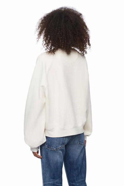 Pepe Jeans Sweats col O blanc PL580904_800 WHITE img3