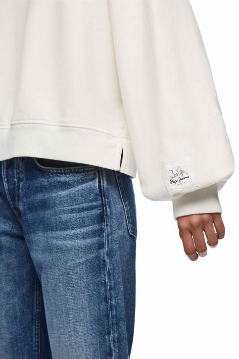 Pepe Jeans Sweats col O blanc PL580904_800 WHITE img4
