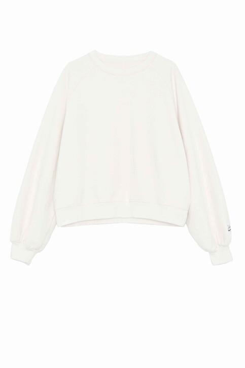 Pepe Jeans Sweats col O blanc PL580904_800 WHITE img6