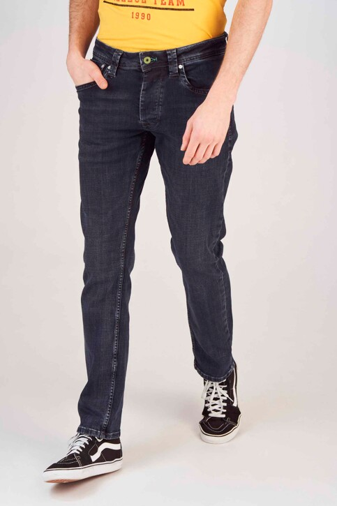 Pepe Jeans Jeans straight noir PM200124WX7_BL BLCK WISER W img1