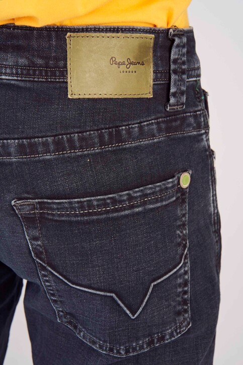 Pepe Jeans Jeans straight noir PM200124WX7_BL BLCK WISER W img4