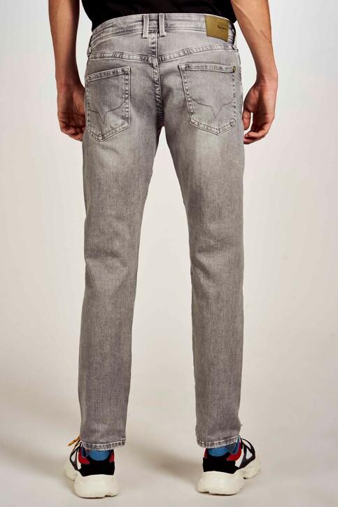 Pepe Jeans Jeans slim gris PM200823WF7_WF7 MID GREY img3