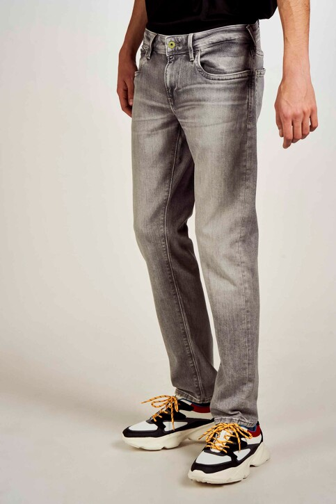 Pepe Jeans Jeans slim gris PM200823WF7_WF7 MID GREY img4