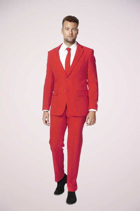 Opposuits Costumes carnaval rouge RED DEVIL_0014 img1