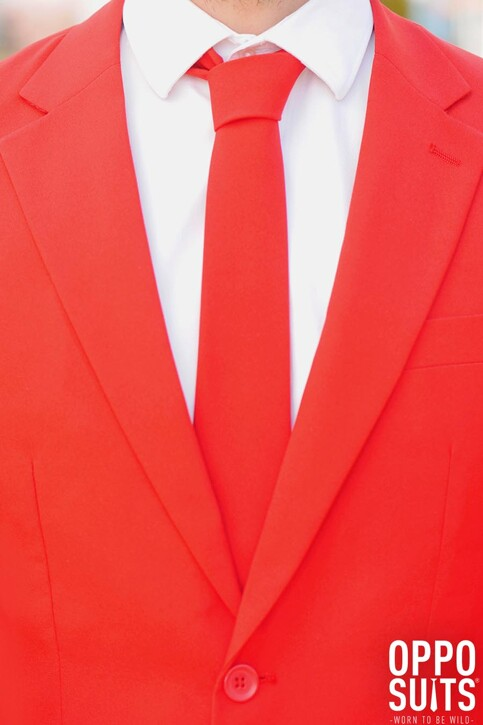 Opposuits Costumes carnaval rouge RED DEVIL_0014 img2