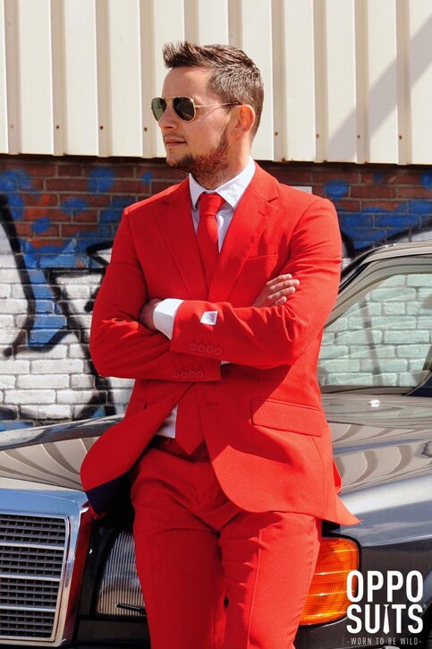 Opposuits Costumes carnaval rouge RED DEVIL_0014 img7