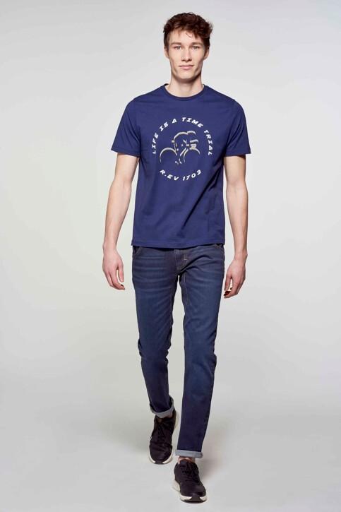 R.EV 1703 by Remco Evenepoel T-shirts (korte mouwen) blauw REV211MT 003_NAVY img2