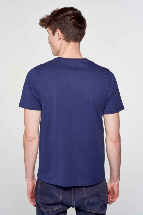 R.EV 1703 by Remco Evenepoel T-shirts (korte mouwen) blauw REV211MT 003_NAVY img4