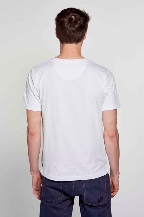 R.EV 1703 by Remco Evenepoel T-shirts (korte mouwen) wit REV211MT 006_WHITE img6
