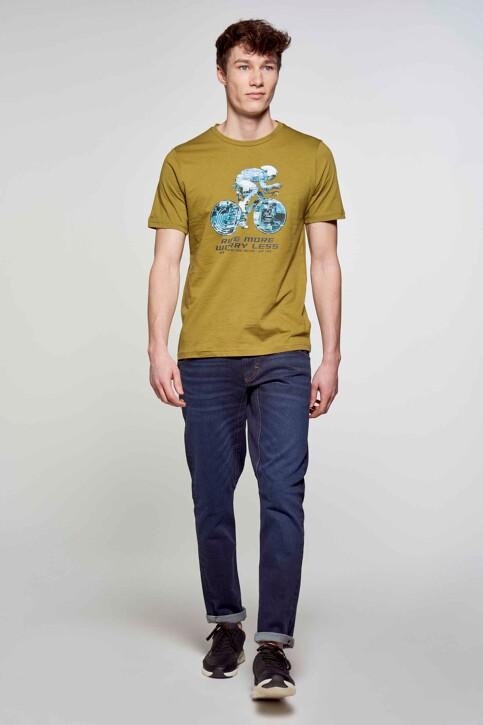 R.EV 1703 by Remco Evenepoel T-shirts (korte mouwen) groen REV211MT 008_GREEN MOSS img2