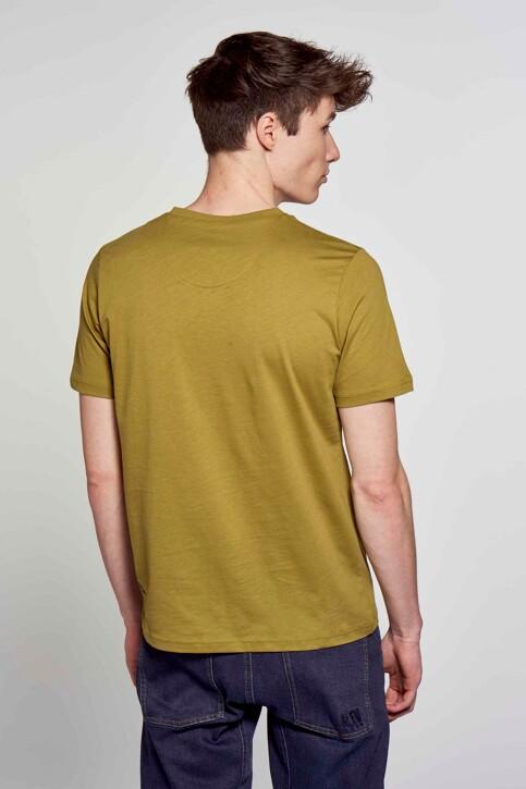 R.EV 1703 by Remco Evenepoel T-shirts (korte mouwen) groen REV211MT 008_GREEN MOSS img3
