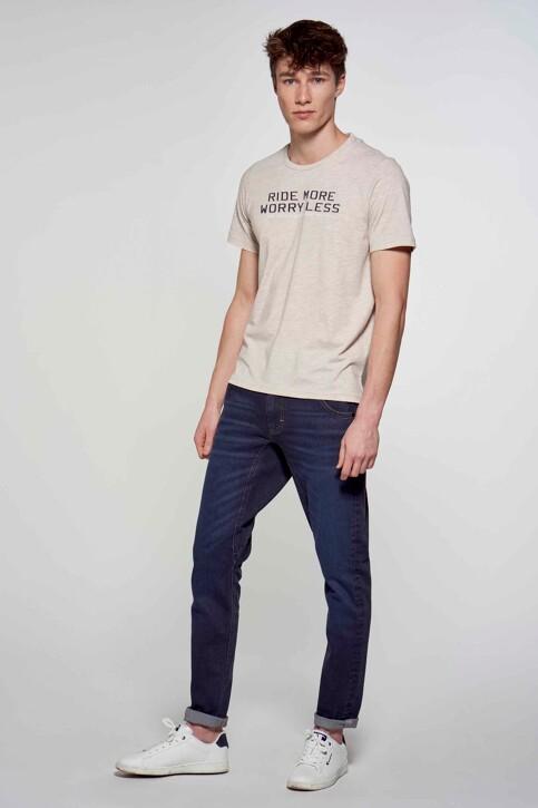 R.EV 1703 by Remco Evenepoel T-shirts (korte mouwen) wit REV211MT 014_WHITE PEPPER img2