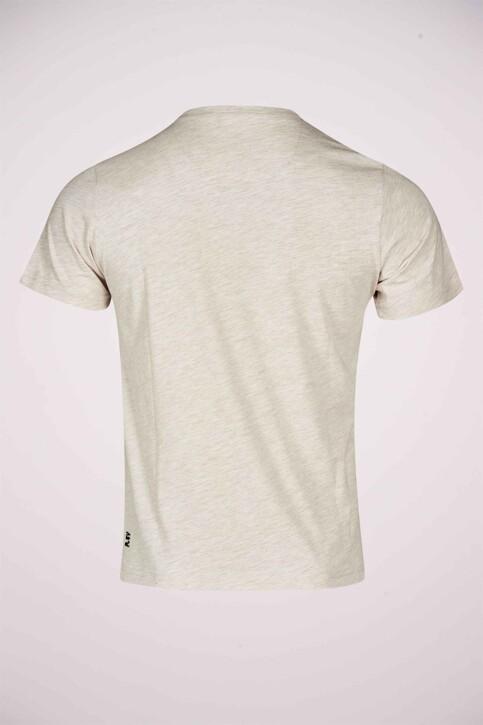 R.EV 1703 by Remco Evenepoel T-shirts (korte mouwen) wit REV211MT 014_WHITE PEPPER img7