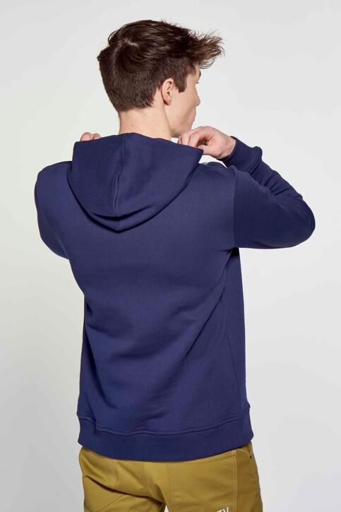R.EV 1703 by Remco Evenepoel Sweaters met kap blauw REV211MT 015_NAVY img3