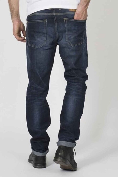 Petrol Industries® Jeans straight grijs RILEY STRAIGHT_5806 DARK STONE img2