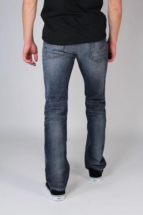 DIESEL Jeans straight gris SAFADO_0885KGREY WASH img3