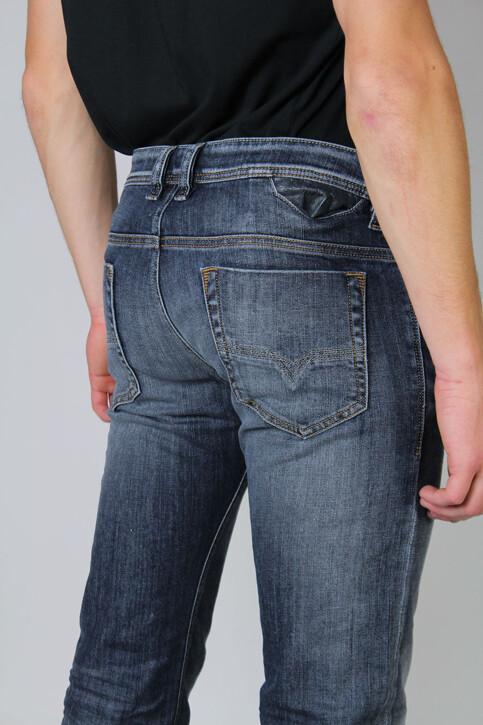 DIESEL Jeans straight gris SAFADO_0885KGREY WASH img4