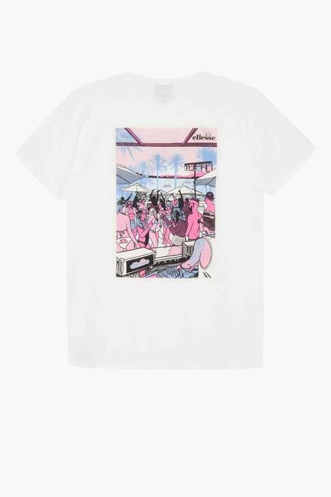ellesse® T-shirts (korte mouwen) wit SGI11078_908 WHITE img1