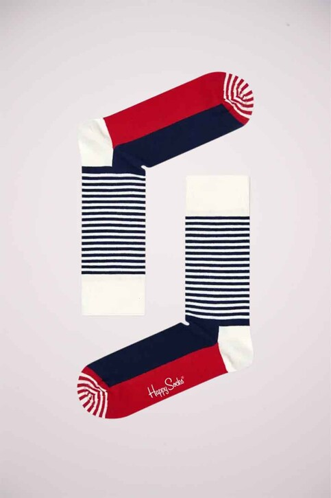 Happy Socks® Sokken multicolor SH01068_HALF STRIPE img1