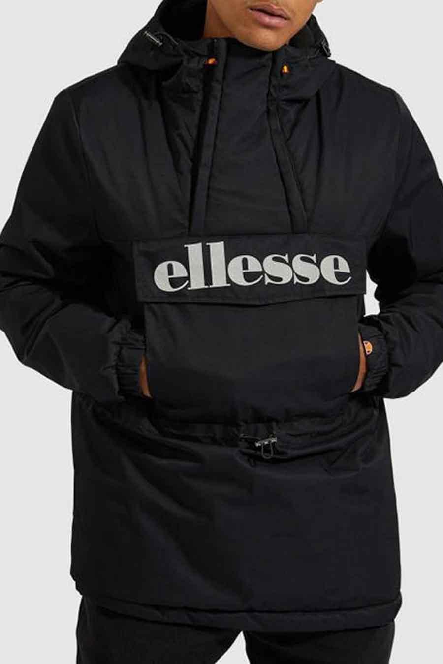 Ellesse® Jas kort, Zwart, Heren, Maat: S/XS