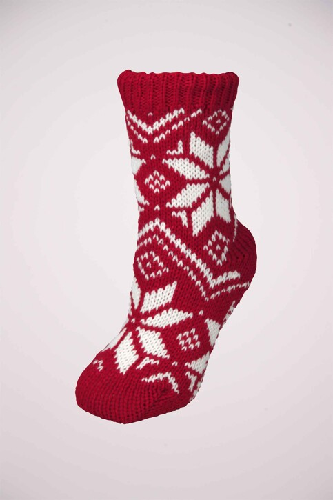 Capelli Sokken rood SSL3331_RED img1