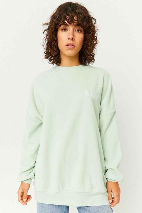 TALLY WEIJL Sweaters met ronde hals groen SSWPEPAPPO_AQUA FOAM img1