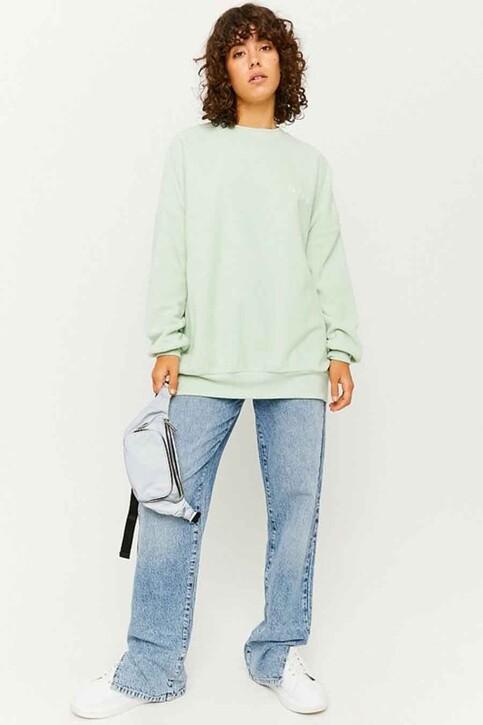 TALLY WEIJL Sweaters met ronde hals groen SSWPEPAPPO_AQUA FOAM img2