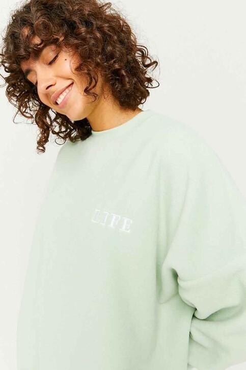 TALLY WEIJL Sweaters met ronde hals groen SSWPEPAPPO_AQUA FOAM img4