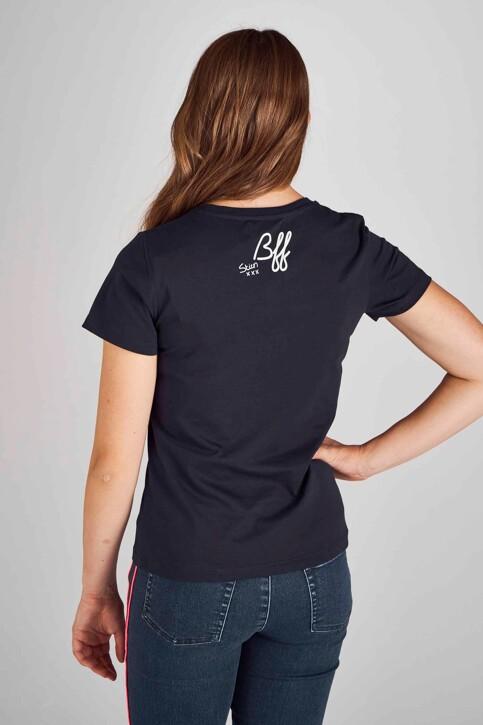 Stien Edlund T-shirts (korte mouwen) blauw STI192WT 023_NIGHT BLUE img3