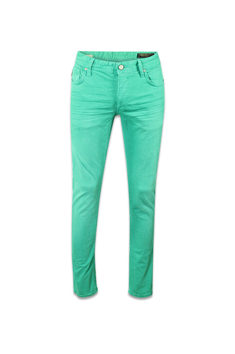 CORE BY JACK & JONES Jeans slim groen TIM ORIGINAL_PORCELAIN GREEN img1
