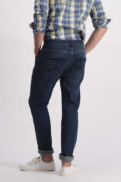 Petrol Industries® Jeans tapered denim TYMORE_5801MID BLUE img3