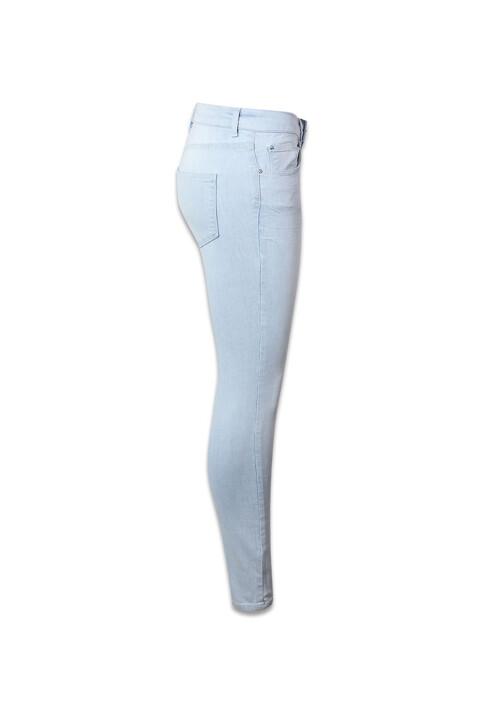 VERO MODA® Jeans skinny denim VMSUPER FIX NEW SKIN_LIGHT BLUE DENI img3