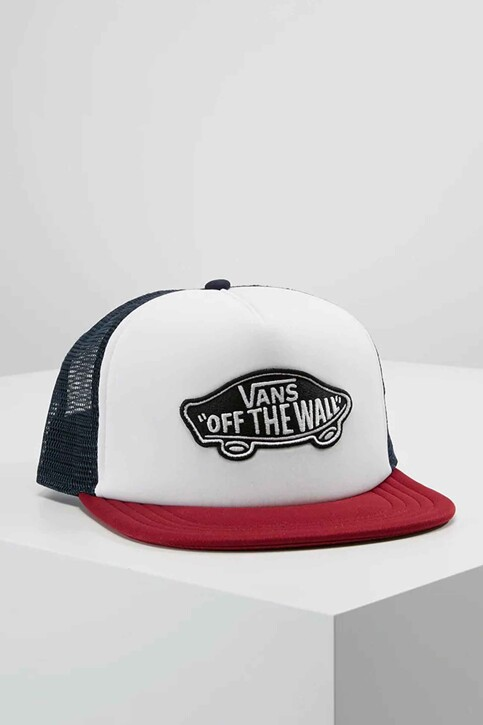"VANS ""OFF THE WALL"" Casquettes rouge VN000H2VTD31_WHITE RHUMBA RE img1"