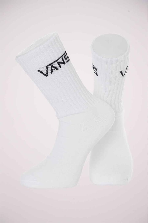 """VANS """"OFF THE WALL"""" Chaussettes blanc VN000XSEWHT1_WHT1 WHITE img2"""