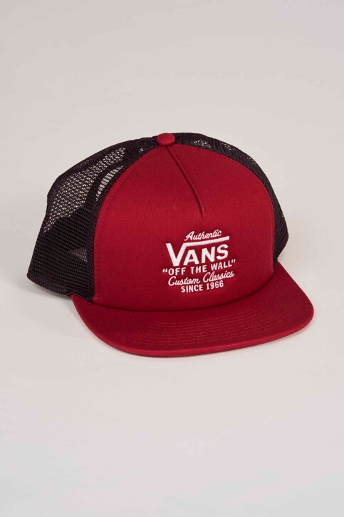 """VANS """"OFF THE WALL"""" Casquettes rouge VN0A31CDTD21_RHUMBA RED img1"""